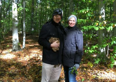 A sweet (and cold) trip to the Sacred Grove!