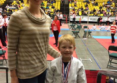 Karate Tournament for our son!